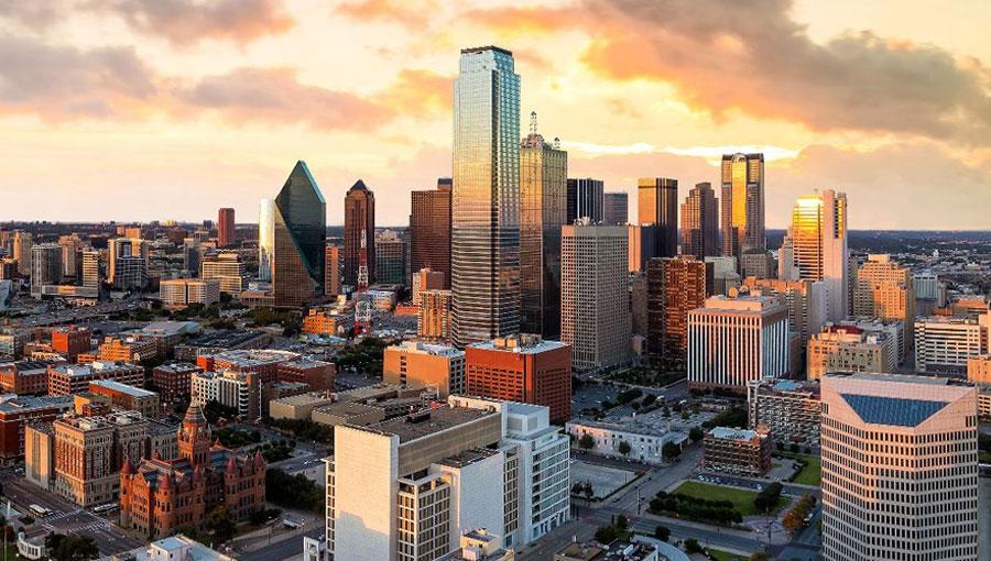 dallas, texas, skyline, forbes